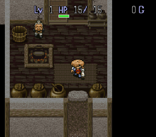 Screenshot Thumbnail / Media File 1 for Fushigi no Dungeon 2 - Fuurai no Shiren (Japan) [En by Aeon Genesis v1.0] (~Mysterious Dungeon 2 ~ Shiren the Wanderer)